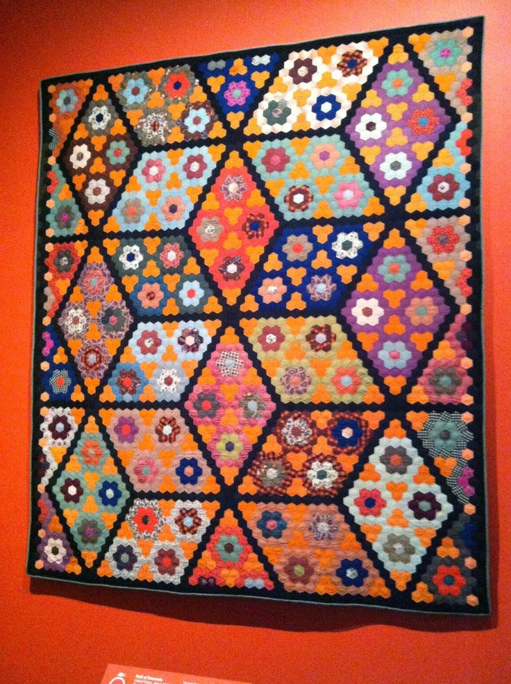 934 best Hexagons and English Paper Pieced Quilts images on ... : quilts and color - Adamdwight.com