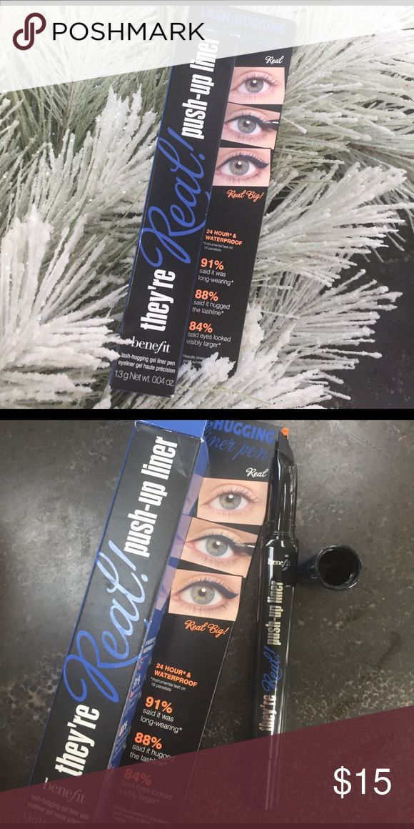 Brand New! Benefit Eyeliner The color is beyond blue - like a cobalt navy color. Brand new in box Benefit Makeup Eyeliner