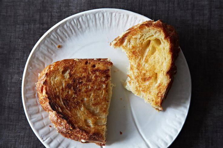 How to Make the Perfect Grilled Cheese Sandwich. Includes a recipe for tomato soup.