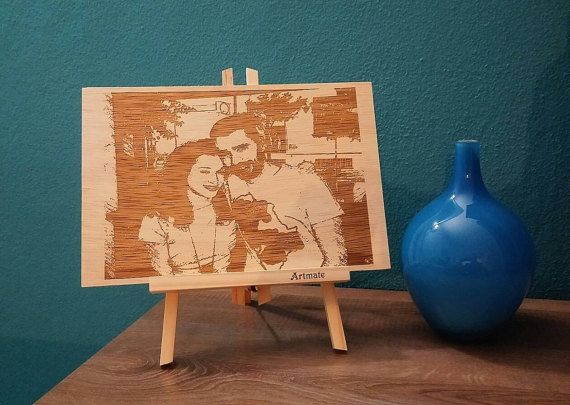Check out this item in my Etsy shop https://www.etsy.com/listing/514322449/wooden-portrait-with-an-image-of-your