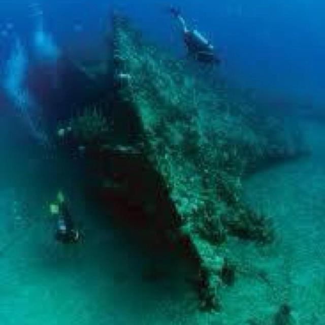 RMS Rhone Shipwreck, Tortola