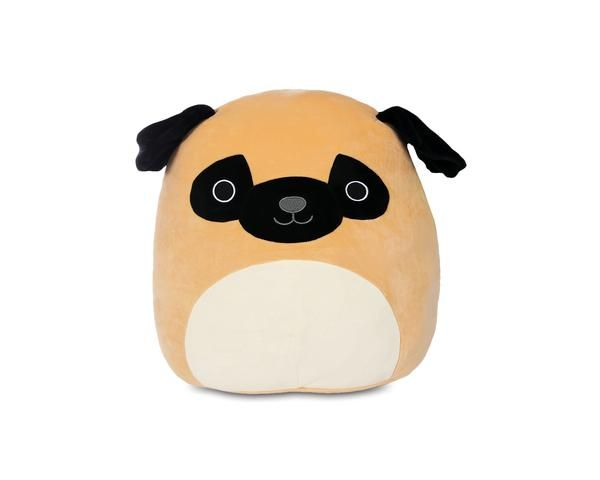 Squishmallow 8 Inch Plush Prince The Pug Pillow Pals Pugs Plush