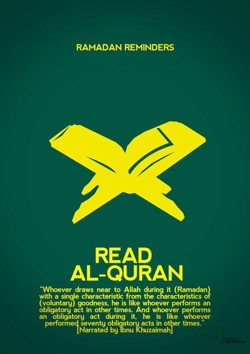 Read Al-Qur'an