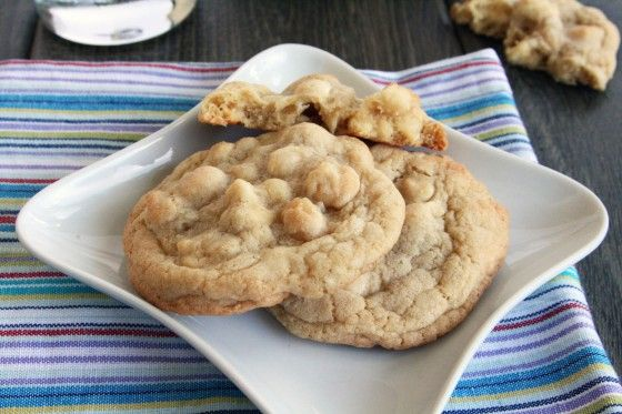 Ghiradelli white chocolate macadamia nut cookies. Made them yesterday and they're great!