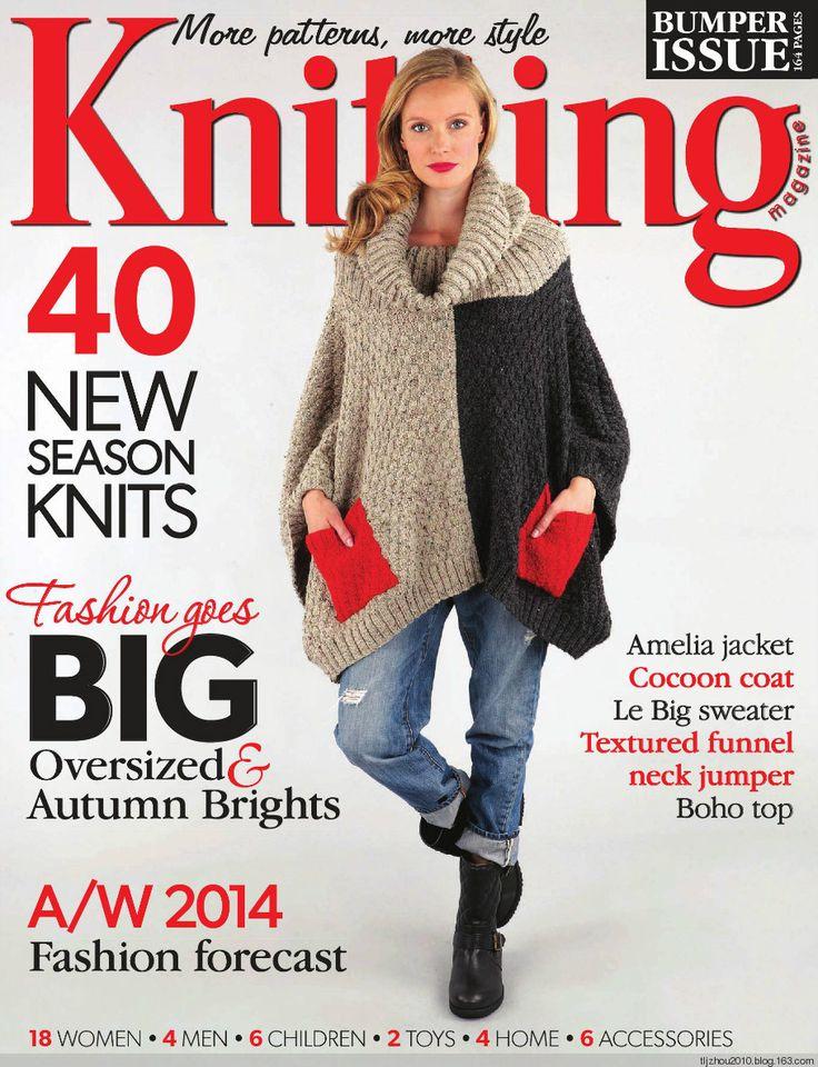 【转载】Knitting Magazine №10 2014 - liuxiaoben1的日志 - 网易博客
