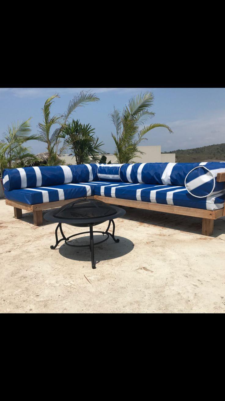 Outdoor sofa set diy