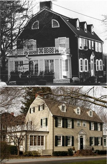 Amityville, remodeled..... I don't care what they have done to it, i wouldn't live there