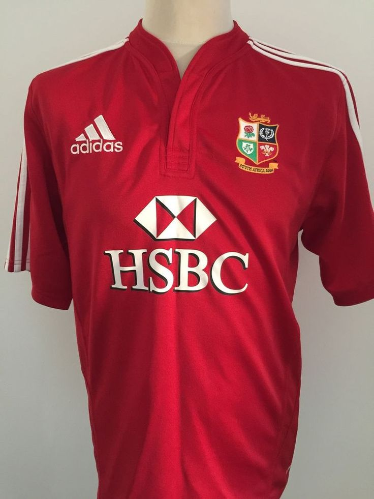 BRITISH LIONS Rugby Shirt Jersey South Africa 2009 Size MEDIUM  | eBay
