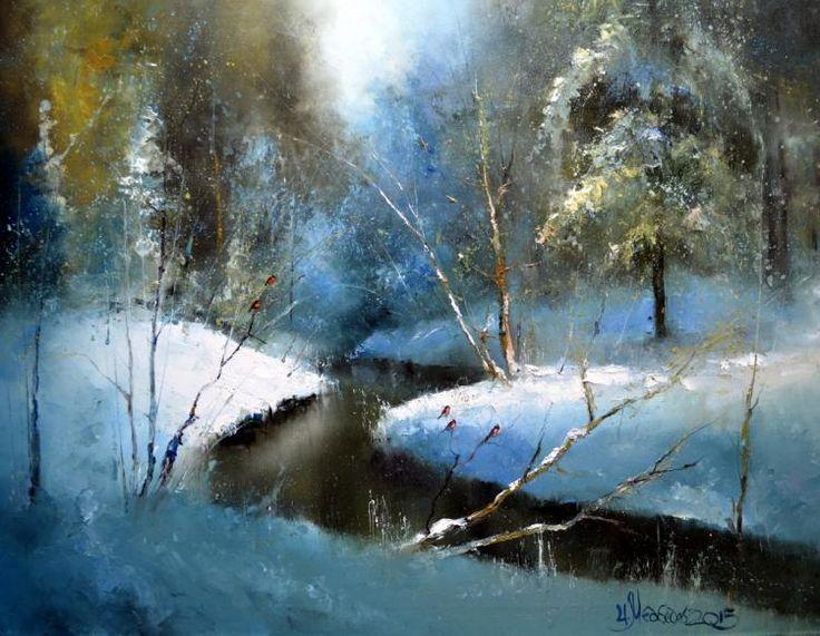Медведев Игорь. Снегири