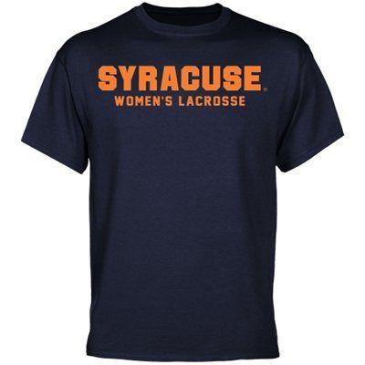 Syracuse Orange Women's Lacrosse T-Shirt - Navy Blue