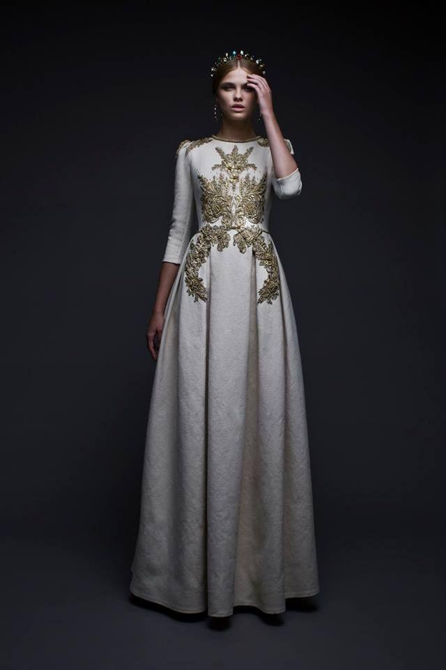 Afshan alter wedding dress