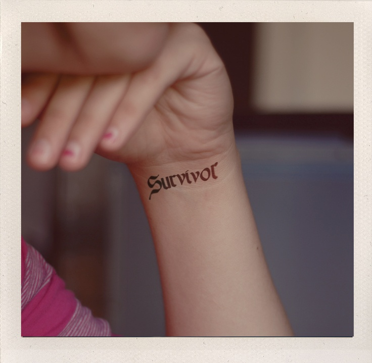 Be a Survivor of all you endure not a victim