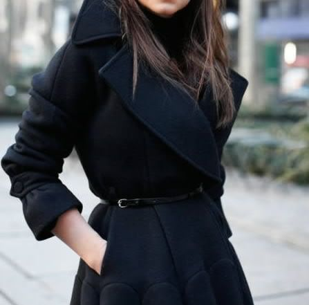 belt it: Black Coats, Jacket, Fashion, Style, Miroslava Duma, Fall Winter, Winter Coats, Wear