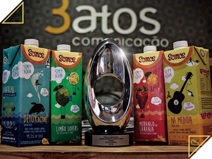 Prêmio Tetra Pak e Revista Embanews. Cliente: Sucos Somos. Mercado: Sucos Funcionais (Saudáveis). Atribuições Principais: Executivo de Contas.