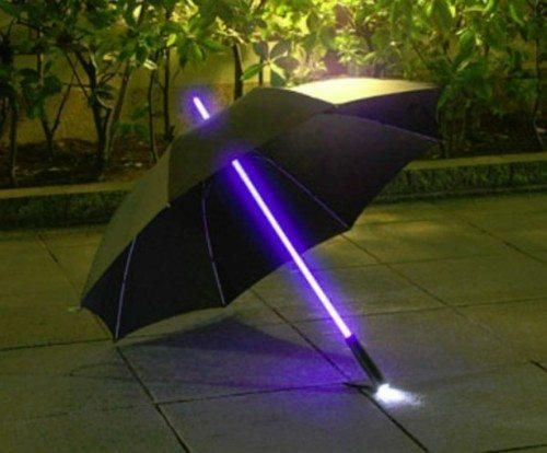 cool technology | tech | gadgets | umbrella | light saber