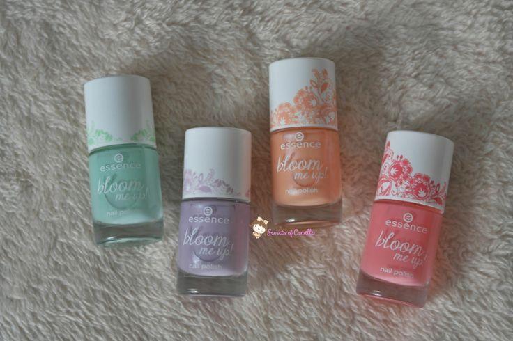 Essence Bloom me up! nail polish collection. #essence #nailpolish #bbloggers #nailart