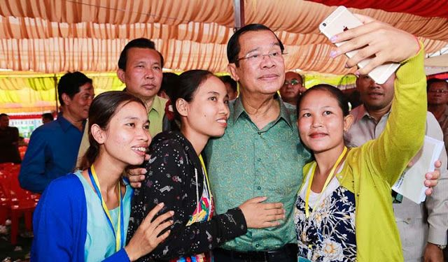 Hun Sen says sanctions would only hurt workers