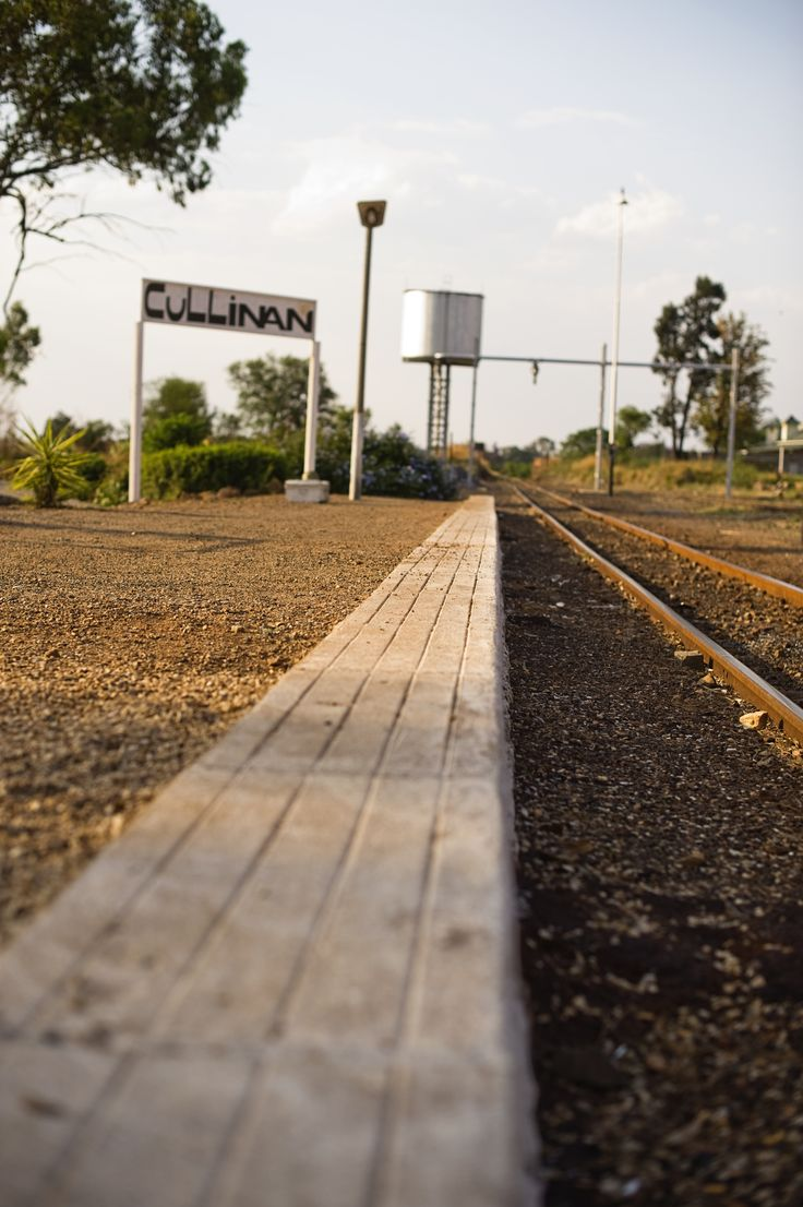 Old train station in Cullinan, South Africa