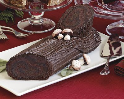 The History Behind Christmas Food Traditions: Buche de Noel