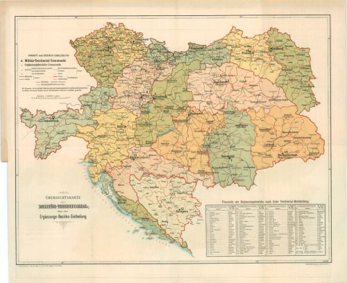 Military districts of Austria-Hungary