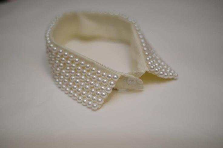 Beautiful #pearl #collar from #Nicci