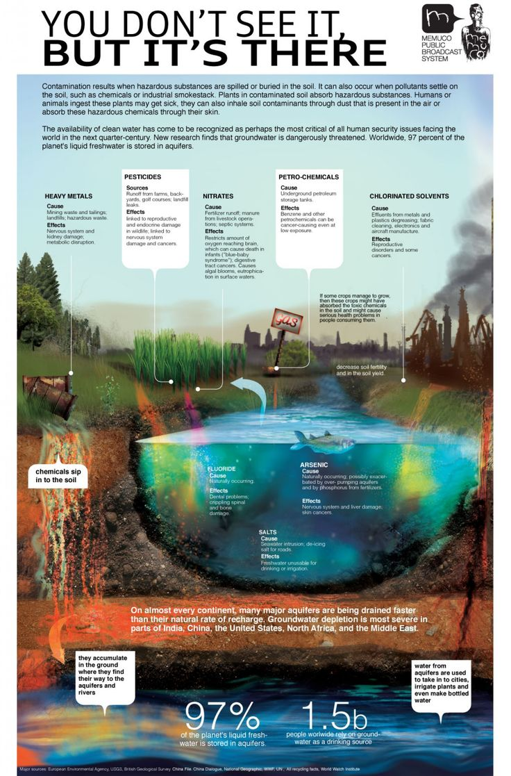 Polluted Soil Infographic -- It's the International Year of Soils, some interesting info.