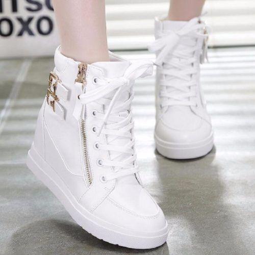 Sepatu Boots Wedges Murah