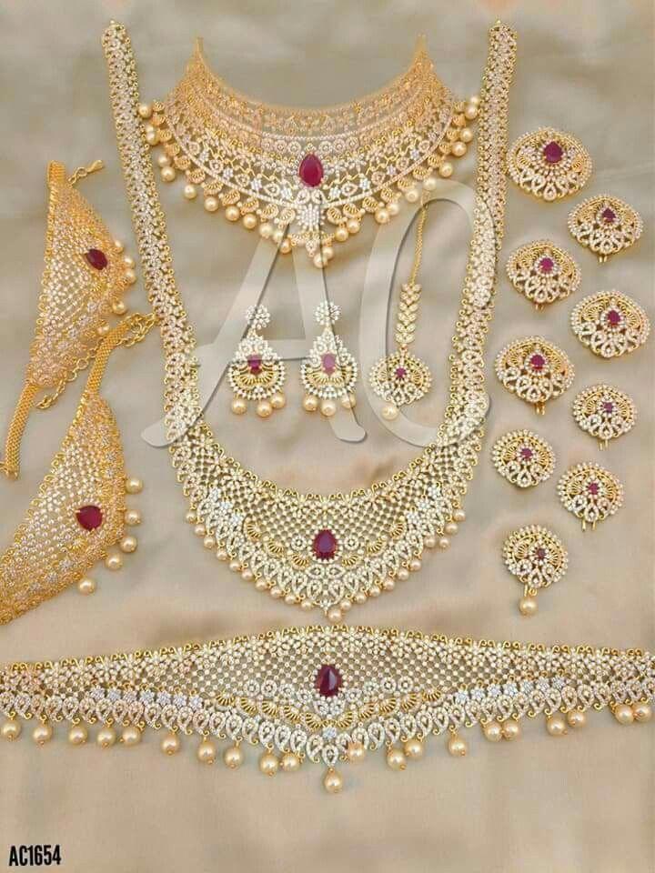 Bridal Jewellery Set Bridaljewelrytraditional With Images