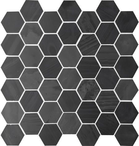 OUR SUPPLIER - montage tile Sirocco HEXAGON Blackwood
