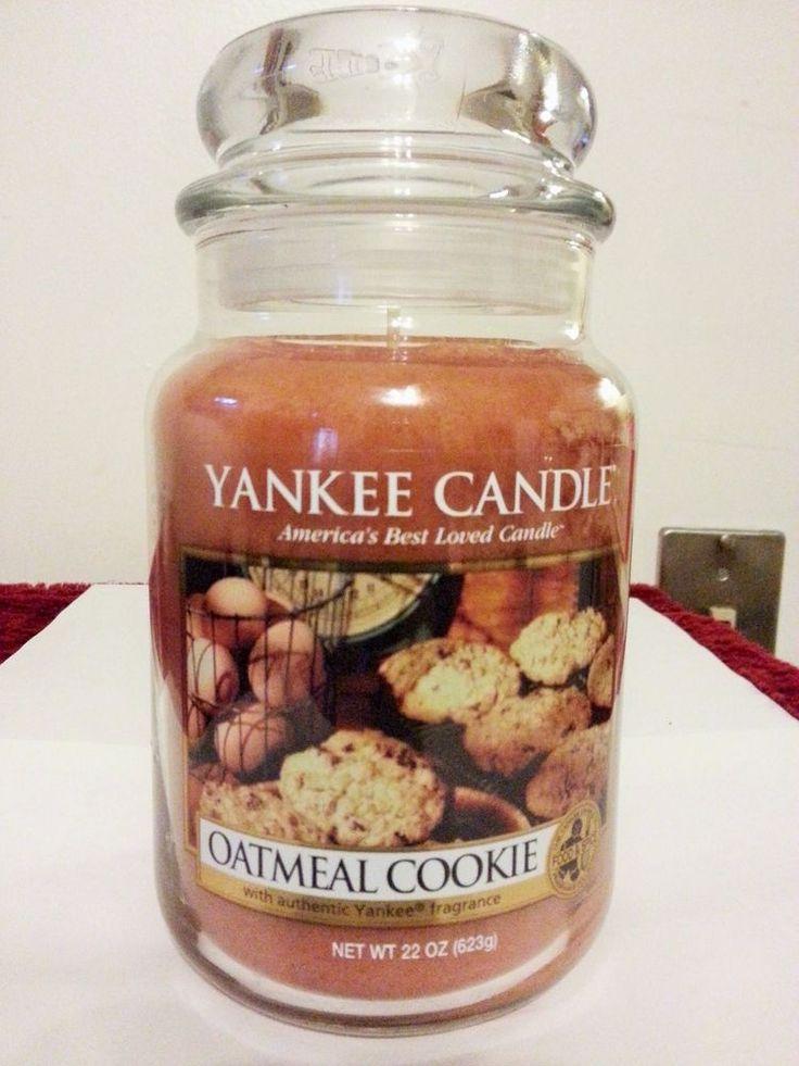 Yankee Candle Oatmeal Cookie 22 oz Jar Candle #YankeeCandle