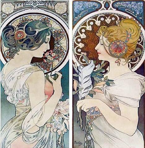 Alfons Mucha, art nouveau