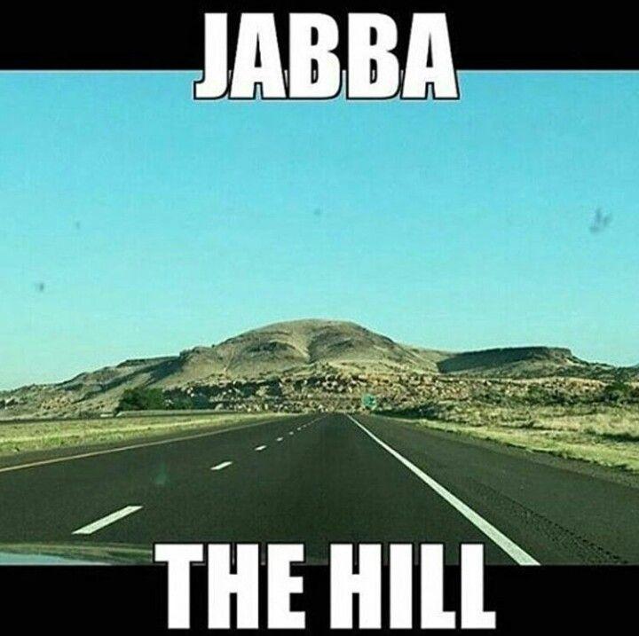 "Jabba! ""Yoka to Bantha poodoo."""