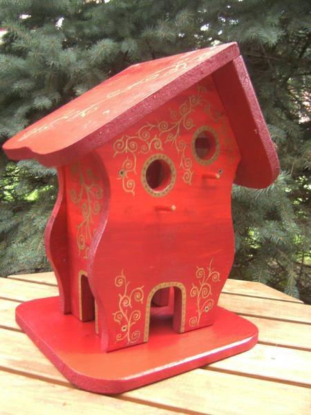 Großes Vogelhaus Nistkasten  Vogelvilla Vogelhäuse
