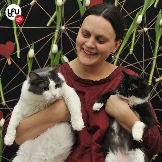 My cats _ UCA & TZUTZU _ yau evenimente+yau flori+sa radem cu amza 2015