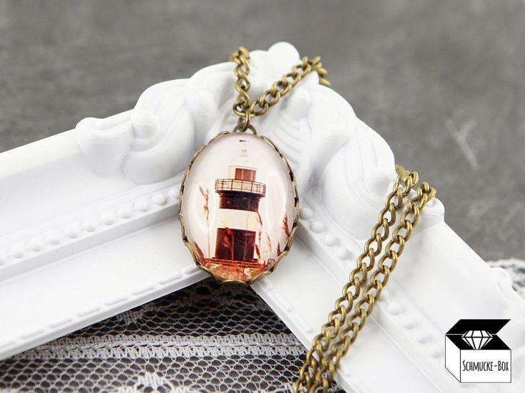 ♥+Leuchtturm!+-+Foto-Kette+Bronze+von+Schmucke-Box+auf+DaWanda.com
