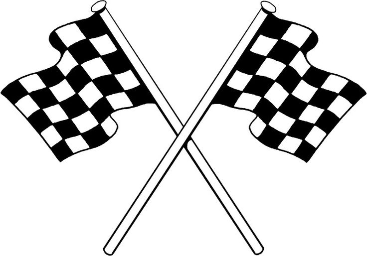 """feuille symbol race car 