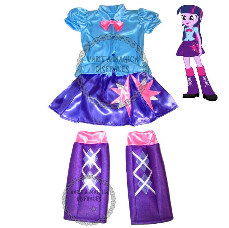 disfraz equestria girls twilight sparkle my little pony