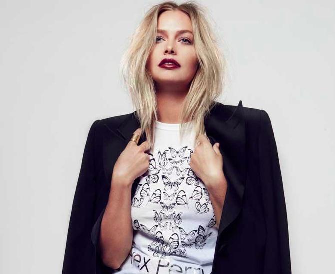 Lara Bingle on Chloe Zara Hair Styling