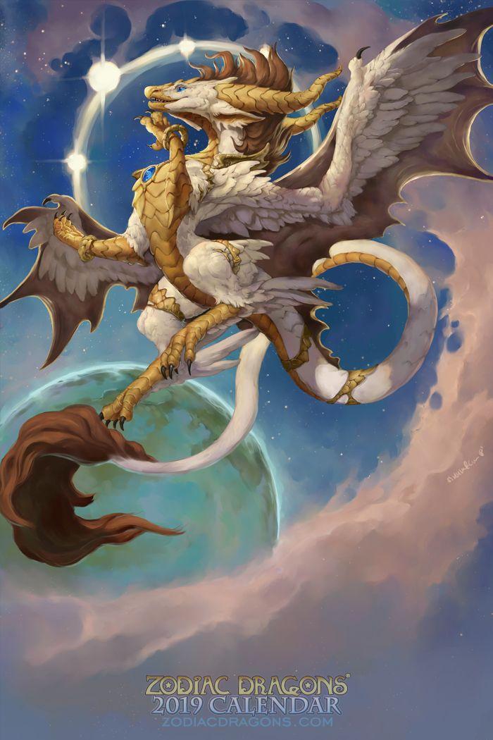Zodiac virgo dragon