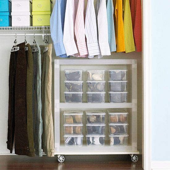 Another great idea for shoe storage!