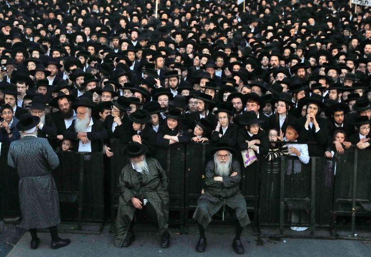 Thousands of ultra-Orthodox Jews took to the streets of Jerusalem on Tuesday to protest against compulsory military service at a time of increased tensions between them and Israeli authorities.  The protesters dressed in the dark suits and hats typical of the ultra-Orthodox community held signs, including