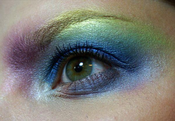 Dnešní Makeup: Not in Paradise