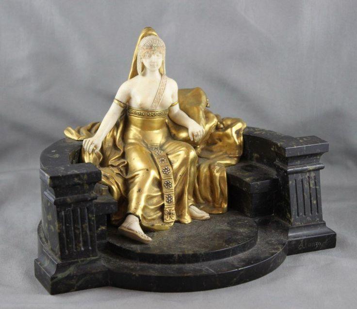 Art Deco Sculpture (Fan Dancer). 2 серия