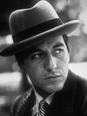 Just watched the Godfather films and am now in love with Al Pacino.