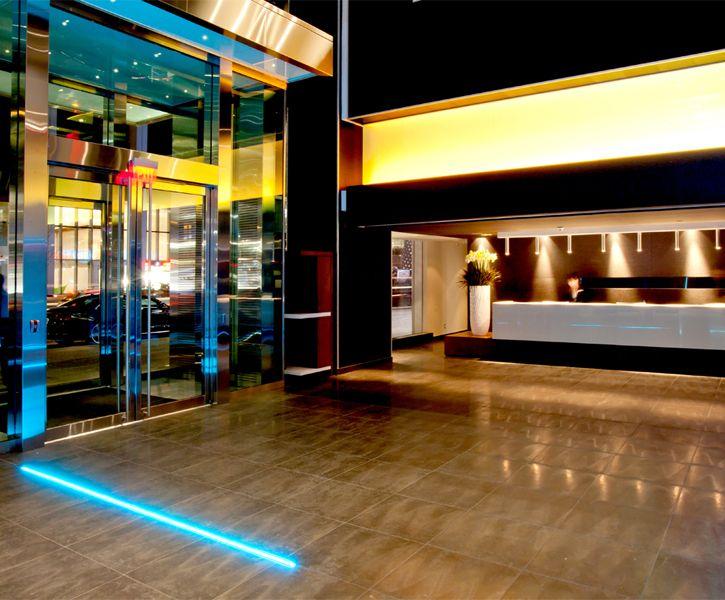LEMAYMICHAUD | GERMAIN | Toronto | Maple Leaf Square | Architecture | Design | Hospitality | Hotel | Reception |
