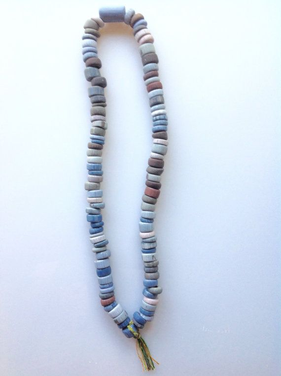 100 handmade ceramic 'fruit loop' beads by HandsomeBead on Etsy