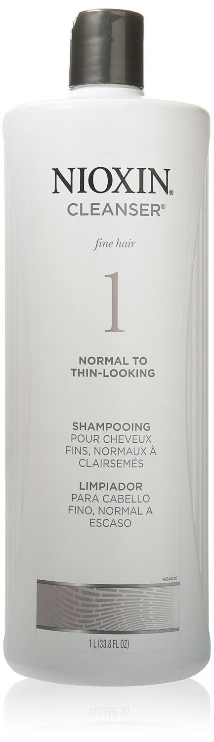 Nioxin -1 Cleanser Shampoo, Normal To Thin Looking, 33.8 oz (Pack of 7) *** You can get additional details at the image link.