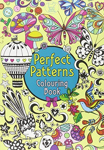 Pretty Patterns Colouring Book : Best images about coloring for adults on