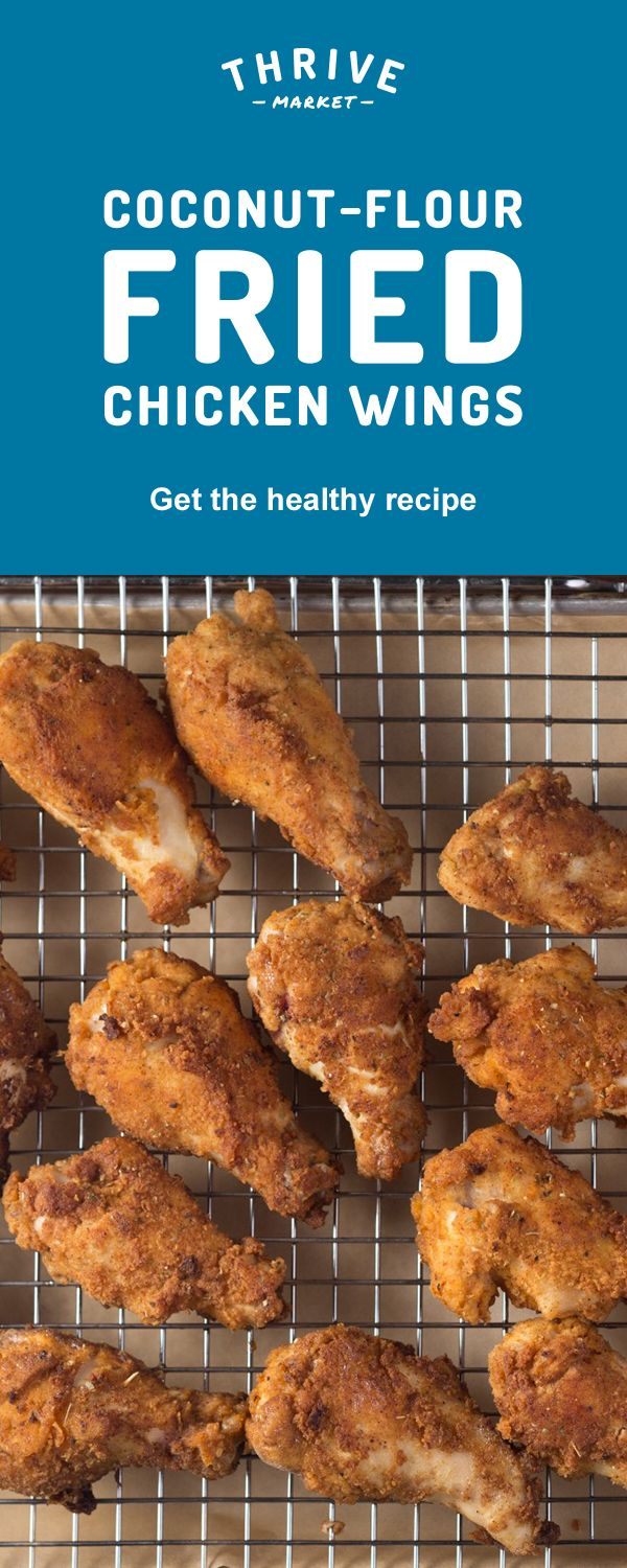 How can you make chicken wings that are both tasty and healthy? Amp up the flavor with five spices and make them gluten-free with coconut flour batter! Sign up at Thrive Market to get the full exclusive recipe. Discover hundreds more easy, delicious one-of-a-kind recipes found only at Thrive Market! Also, save on organic, non-GMO ingredients, all up to 50% off every day!