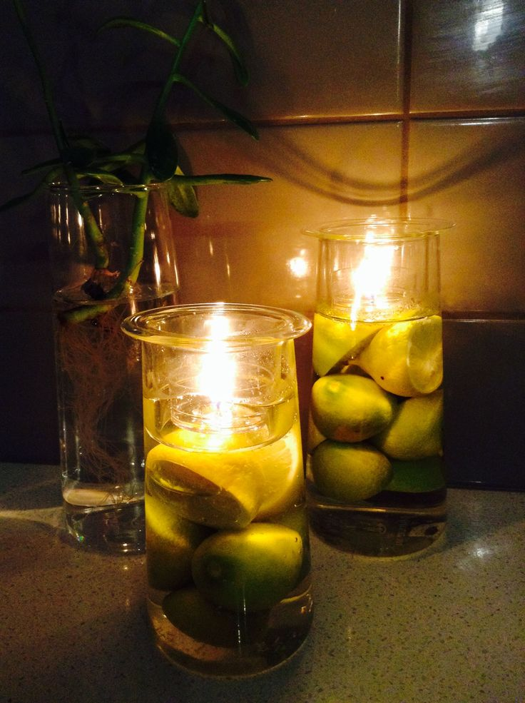Loving this citrus twist with my Partylite Symmetry Trio